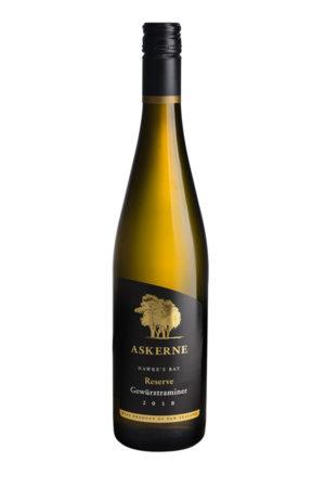 askerne wines 2018 reserve Gewurztraminer