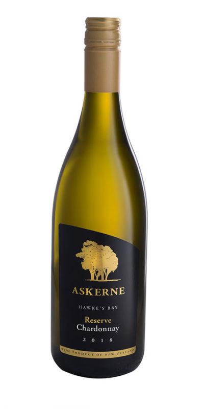 askerne wines 2018 reserve chardonnay